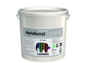 Ściany jednowarstwowe - Capadecor Metallocryl Interior firmy Caparol ? metaliczny blask
