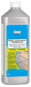 Chemia budowlana - Knauf Impregnat na balkony i tarasy oraz Knauf Środek do czyszczenia balkonów i tarasów
