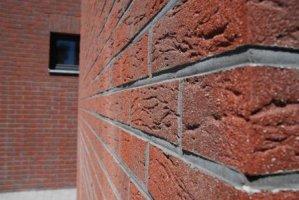 Ściany dwuwarstwowe - Okładzina klinkierowa firmy ArtBrick:</br> Słońce Arizony ukryte w elewacji