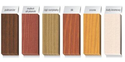 Renowacja - Jedwabisty blask drewna - Drewnochron Lazura