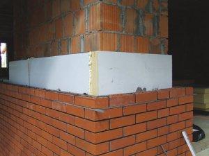 Ściany dwuwarstwowe - Izolacja  ścian termoizolacyjnymi  płytami EcoTherm