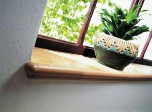 Okna - Parapety dla estety