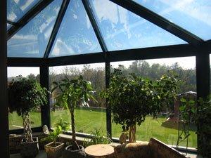 Ogrody zimowe - Daleki Wschód w ogrodzie zimowym