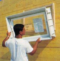 Okna do szybkiego montażu