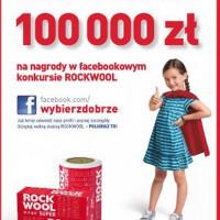 W promocji wełny skalnej ROCKWOOL nagrody o łącznej wartości 100 000 zł.