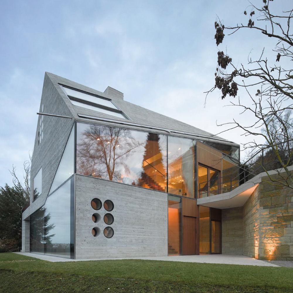 House H36, zdobywca nagrody  WAN Concrete in Architecture Award 2014. Arch. Matthias BAUER