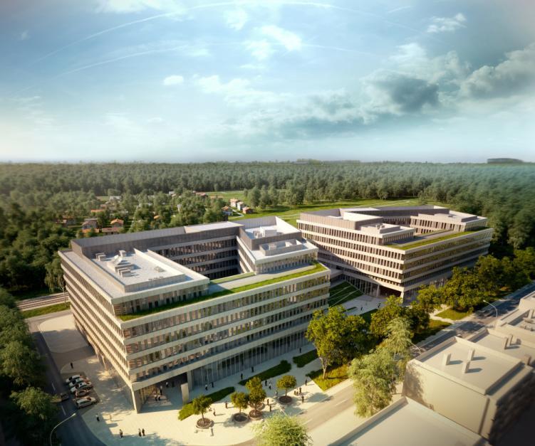 Wdrażaniem rozwiązań Smart Cities w miastach zajmuje się m.in. Schneider Electric. Na fot. siedziba firmy