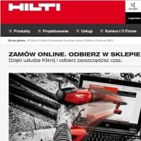 """Hilti uruchamia usługę """"Kliknij i odbierz"""""""