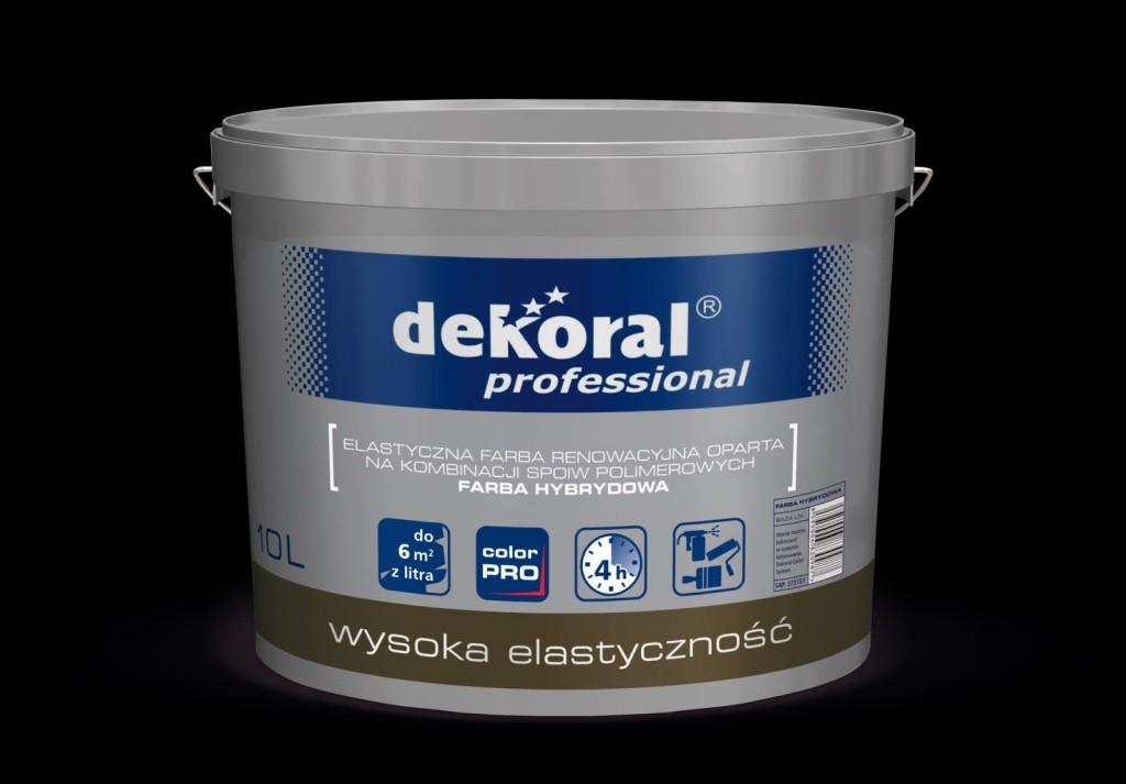 Silikonowa Farba Hybrydowa Dekoral Professional. Fot. Dekoral Professional