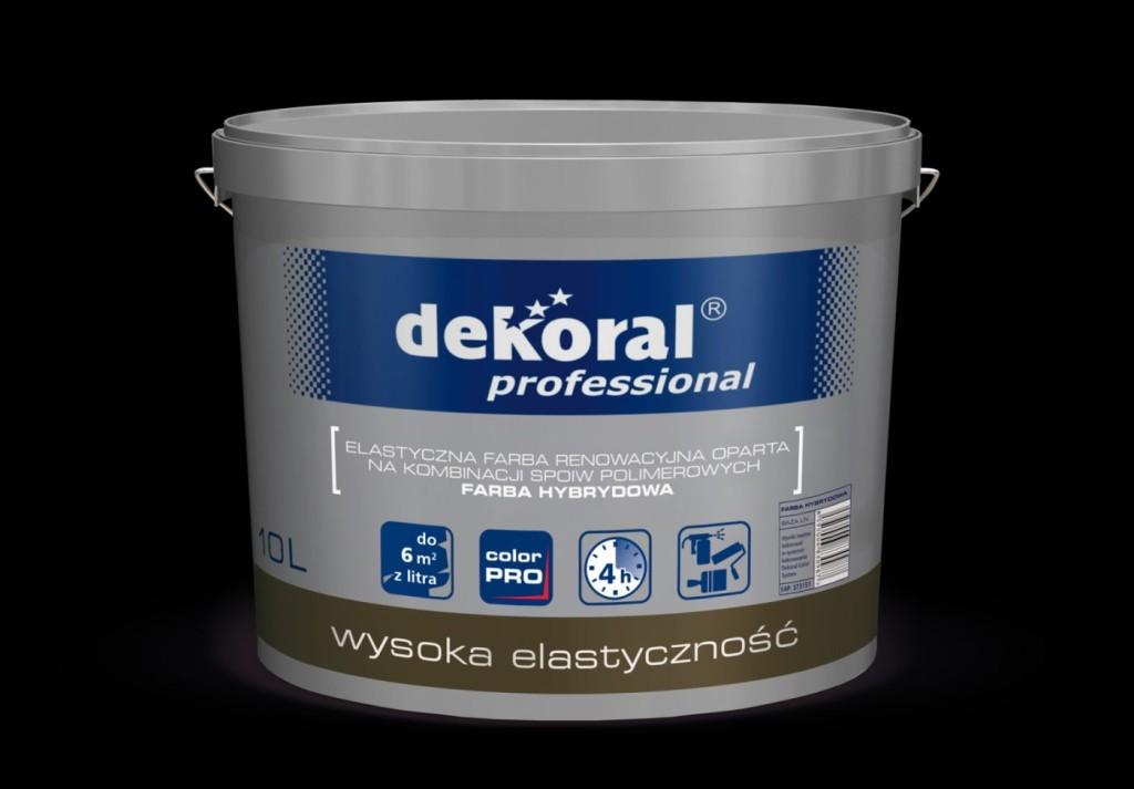 Farba Hybrydowa Dekoral Professional. Fot. Dekoral Professional