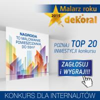 Malarz Roku Dekoral 2015 – głosuj i wygrywaj nagrody