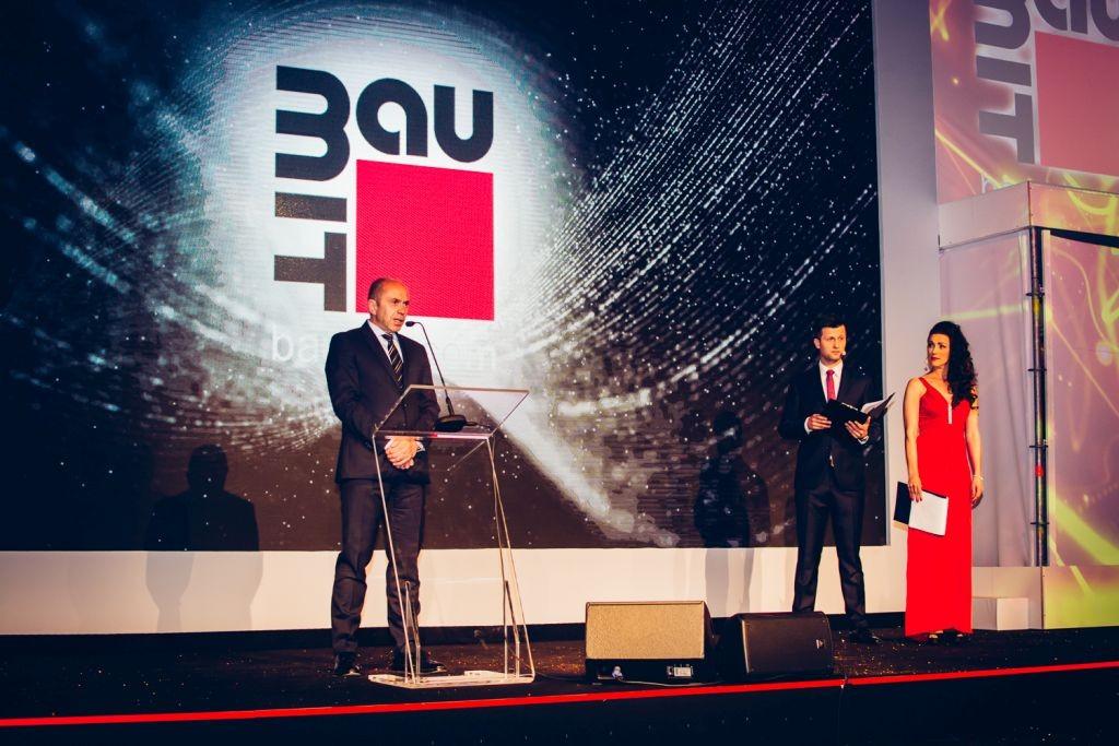 Galę otworzył Jacek Czyżewicz, Prezes firmy Baumit. Fot. Baumit