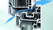Schüco VarioTec Air – efektywna wentylacja z zachowaniem optymalnego bezpieczeństwa