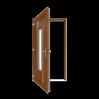 Drzwi DRUTEX z automatyczną zasuwnicą MACO w standardzie!