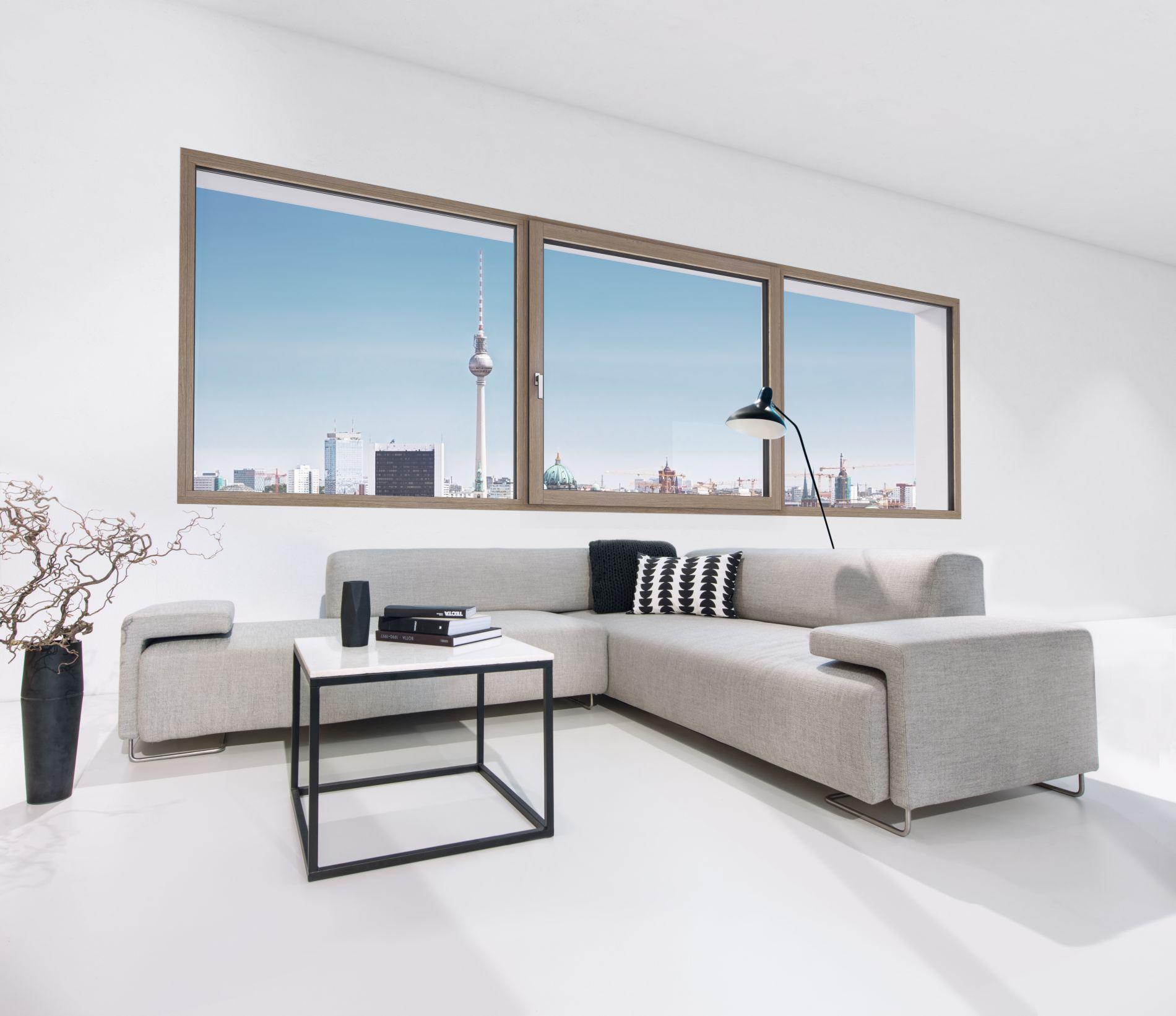 internorm hf 410 okno o drewnianym rdzeniu budowlane. Black Bedroom Furniture Sets. Home Design Ideas