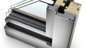 INTERNORM HF 410 – okno o drewnianym rdzeniu