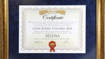 6 tytuł lidera rynku stolarki dla SELENY SA