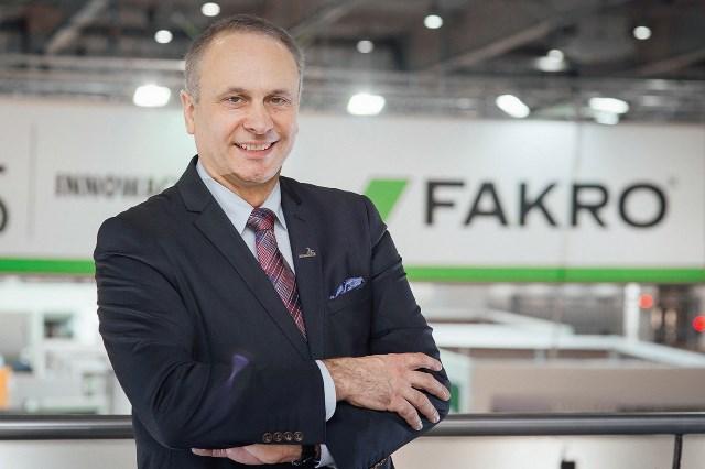 Janusz Komurkiewicz, członek Zarządu Fakro. Fot. Fakro