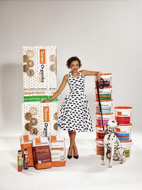 Omenaa Mensah, ambasador marki Termo Organika. Fot. Termo Organika