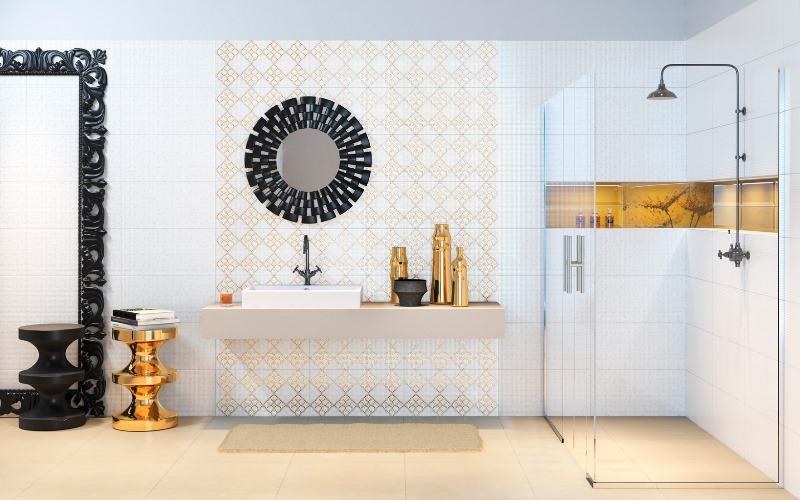 łazienka Jak Marzenie Aranżacje Z Wykorzystaniem Płytek O