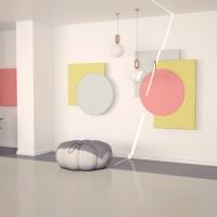 Ścienne panele akustyczne Fluffo Art – premiera na Arena Design i nominacja do Top Design Award