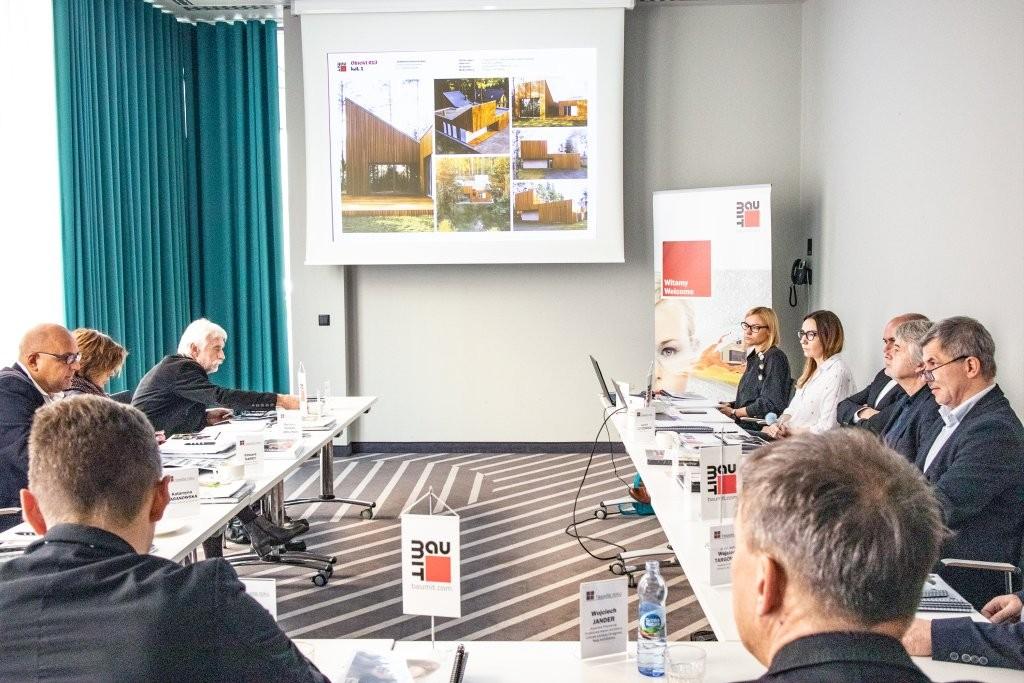 Obrady jury konkursu Fasada Roku 2018. Fot. Baumit