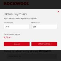 Nowa aplikacja mobilna dla wykonawców od Rockwool – kalkulator ilości wełny